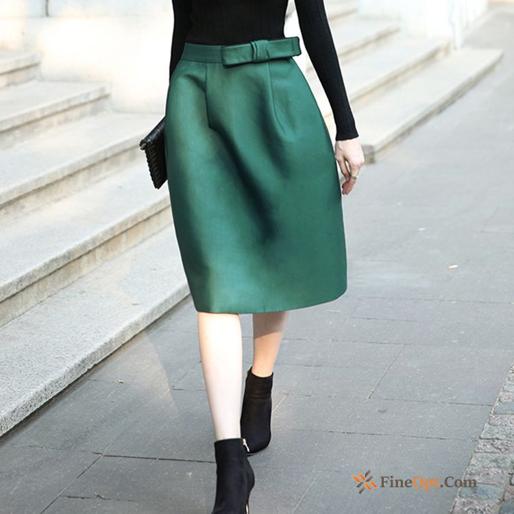 Short Skirt Pleated New Black Long Bow Spring Skirts For Sale