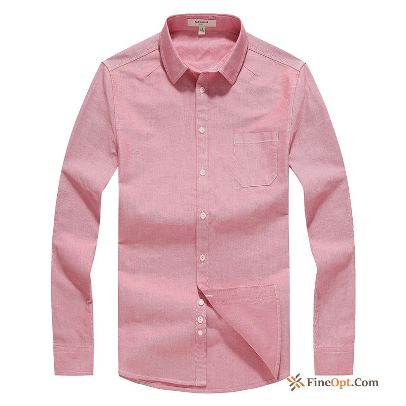 Sleeve Men's Slim New Long Sleeves Cotton Cattle Shirts For Sale