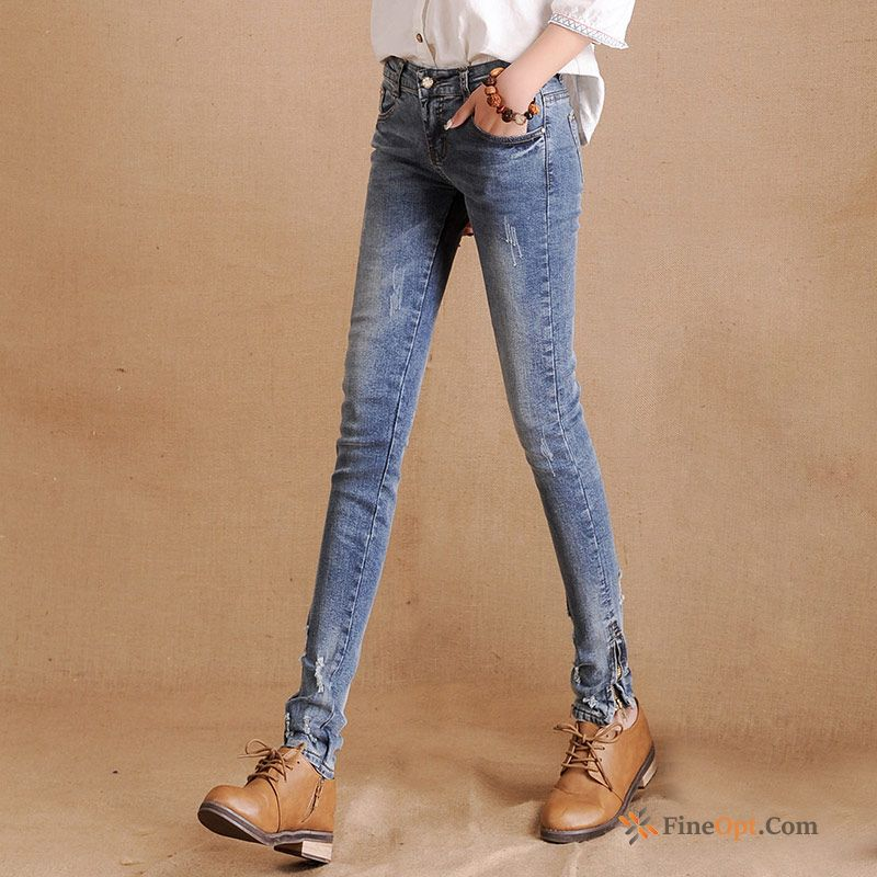 Slim Thin Denim Skinny New Lady Pencil Pants Jeans For Sale