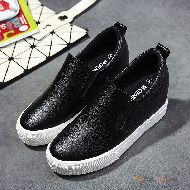 Slip-on All-match Loafers Cloth Shoes Increased Casual Spring Loafers