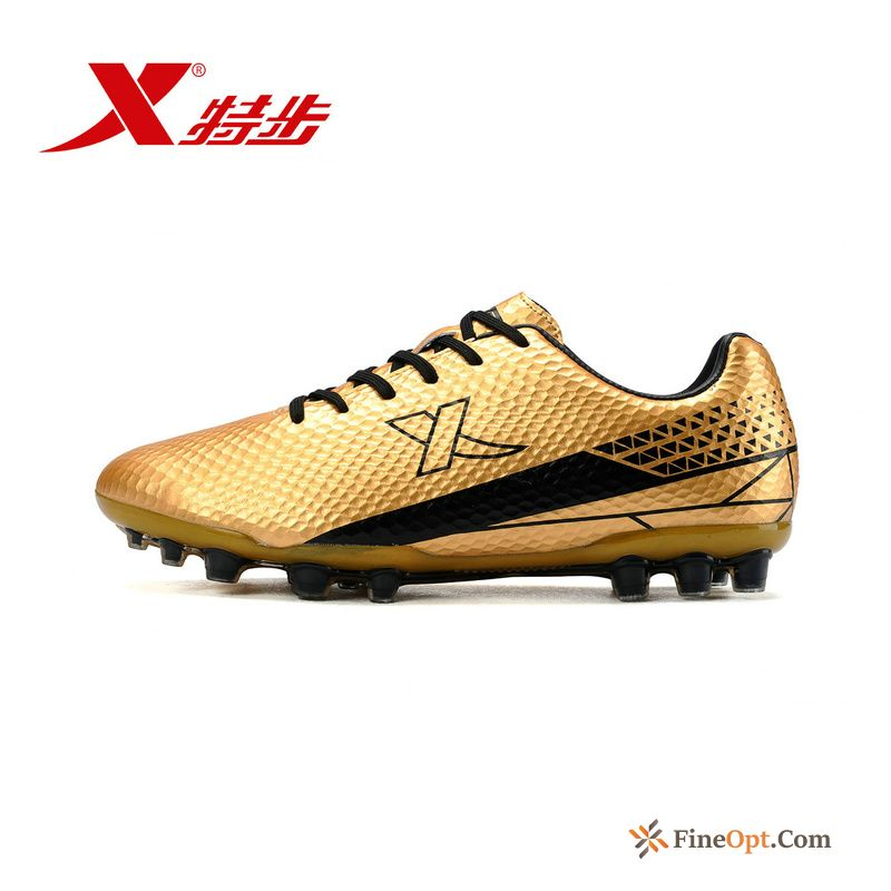 Soccer Shoes New Men's Grassland Anti-skid Athletic Shoes Genuine Silver White Cleats Sale