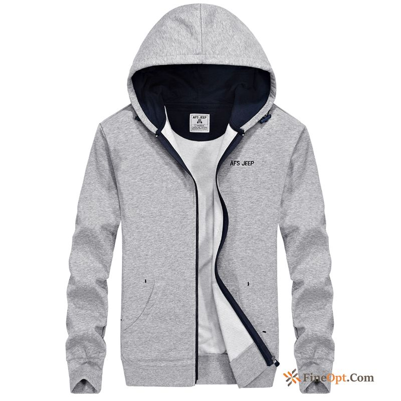 Spring Hoodies Cardigan Skinny Knitting Leisure Hooded Jacket For Sale