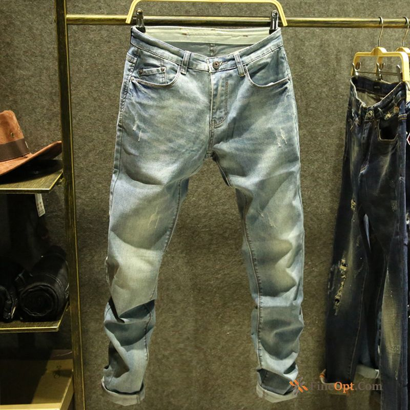 Spring Jeans Youth Trend Slim Thin Men's