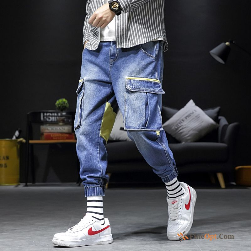 Spring Loose Pants Trend Brand Pants Cargo Student Cargo Pants Discount
