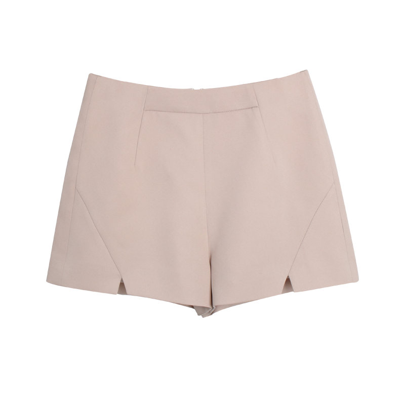Spring Slim Fashion Pants Short Pants Student Chiffon Ivory Shorts