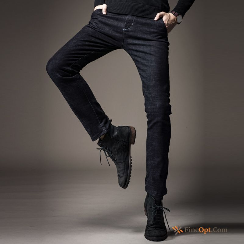 Straight Spring Skinny Trend Youth Jeans Autumn Breen Discount