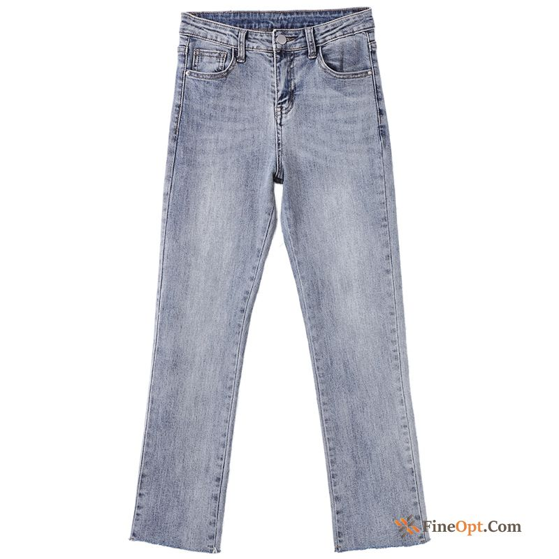 Straight Thin New Blue All-match Pants Spring Jeans Discount