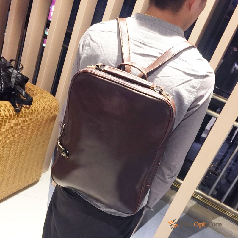 Student School Bag New Men Leisure College Trend Backpack Sale