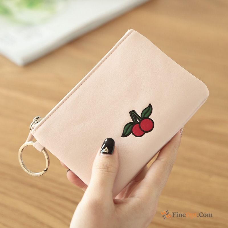 Student Short Paragraph Small Women Fruit Wallet Wallets Sale