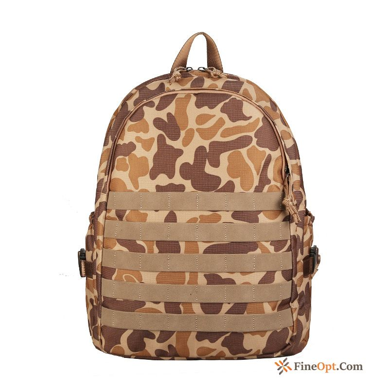 Student Women Camouflage Backpack Men's School Bag High School Rainbow Backpack