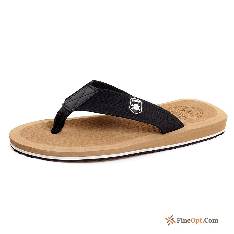 Summer Bathroom Casual Beach Anti-skid Lovers Trend Flip Flops Sale