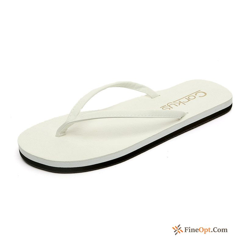 Summer Lovers Trend Casual Anti-skid Men's Beach Flip Flops