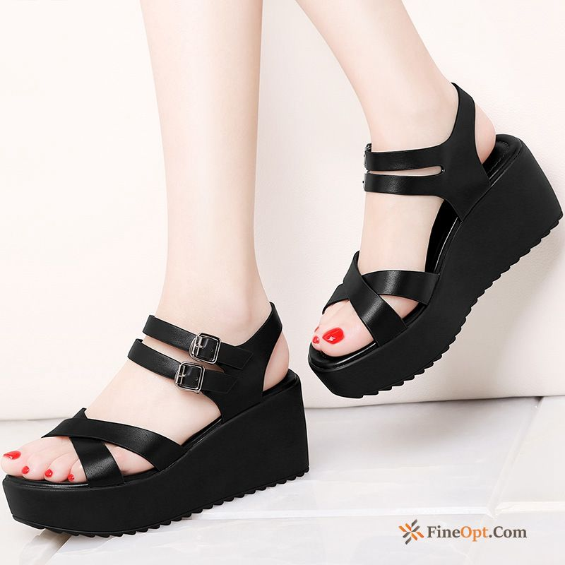 Summer Open Toe Wedges Sandals Spring New Fashion Sandals