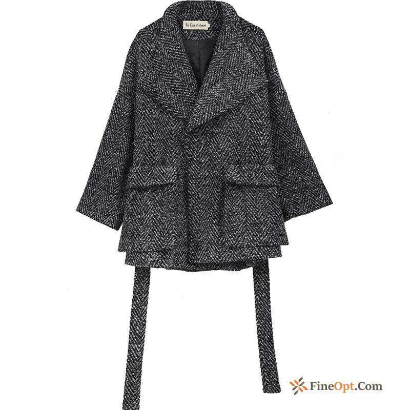 Temperament Overcoat Winter All-match Trend Elegant Gray Coat