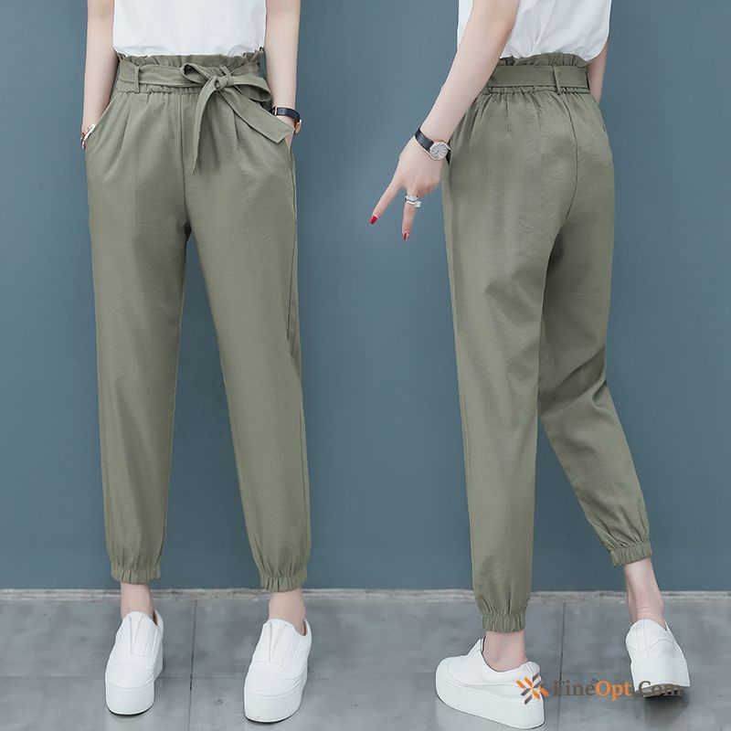 Thin Leisure All-match Summer Ninth Pants New Europe Pants Sale