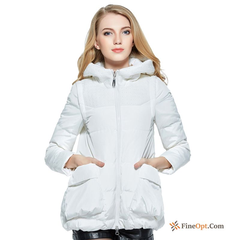 Thin Slim Coat Down Jacket Warm Pure Short