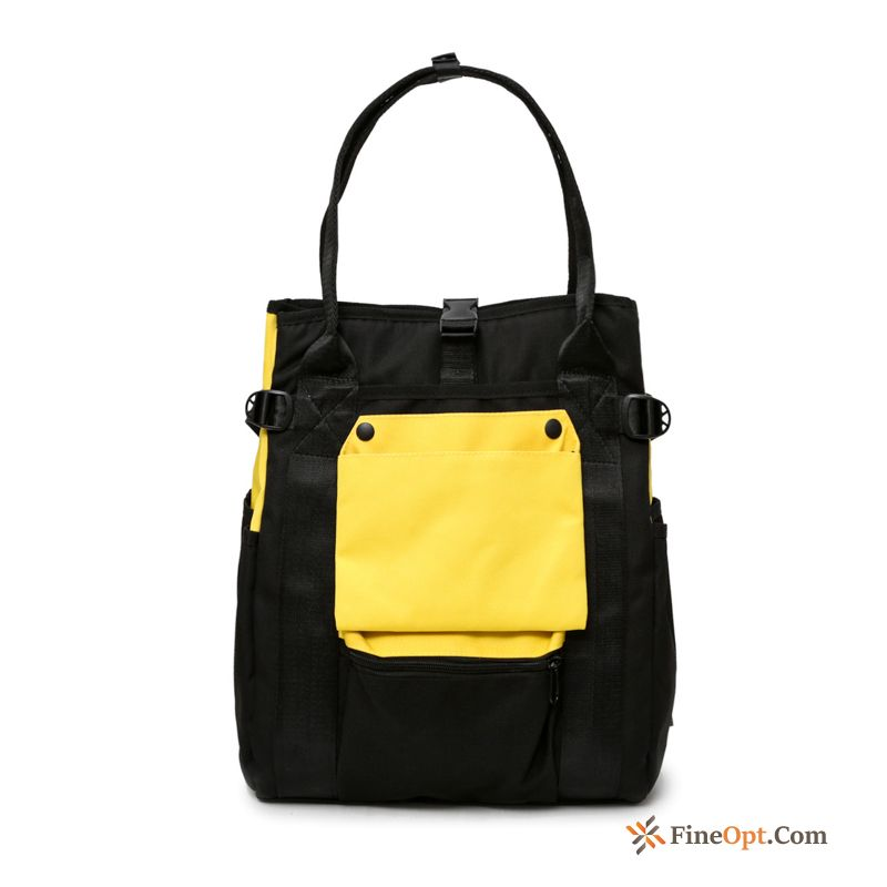 Travel Bag Simple School Bag Women Small High Capacity Student Travel Bag