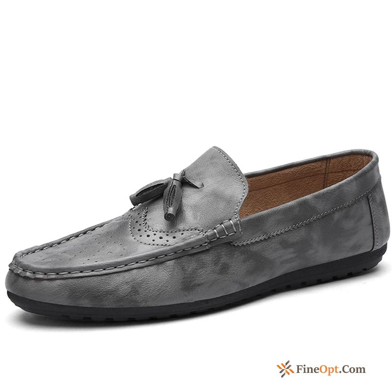Trend Breathable Loafers Driving Shoes Men's New Spring Online