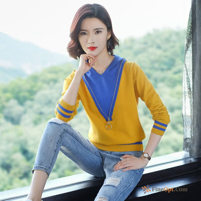 Trend Coat Autumn Pullovers Winter Bottoming Shirt Knitting Sweater Sale