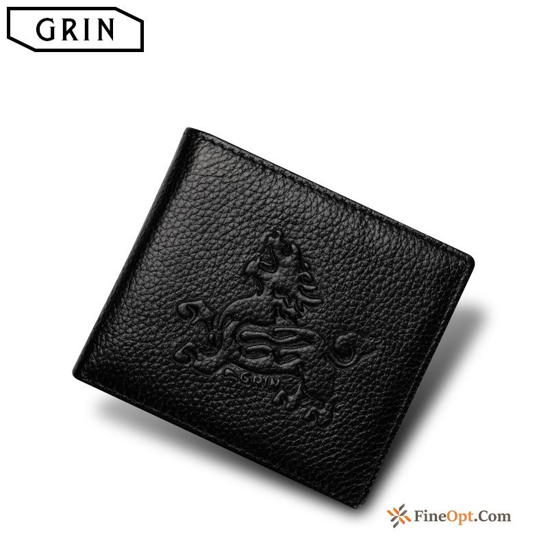 Trend Genuine Genuine Leather Wallets Soft Small Men