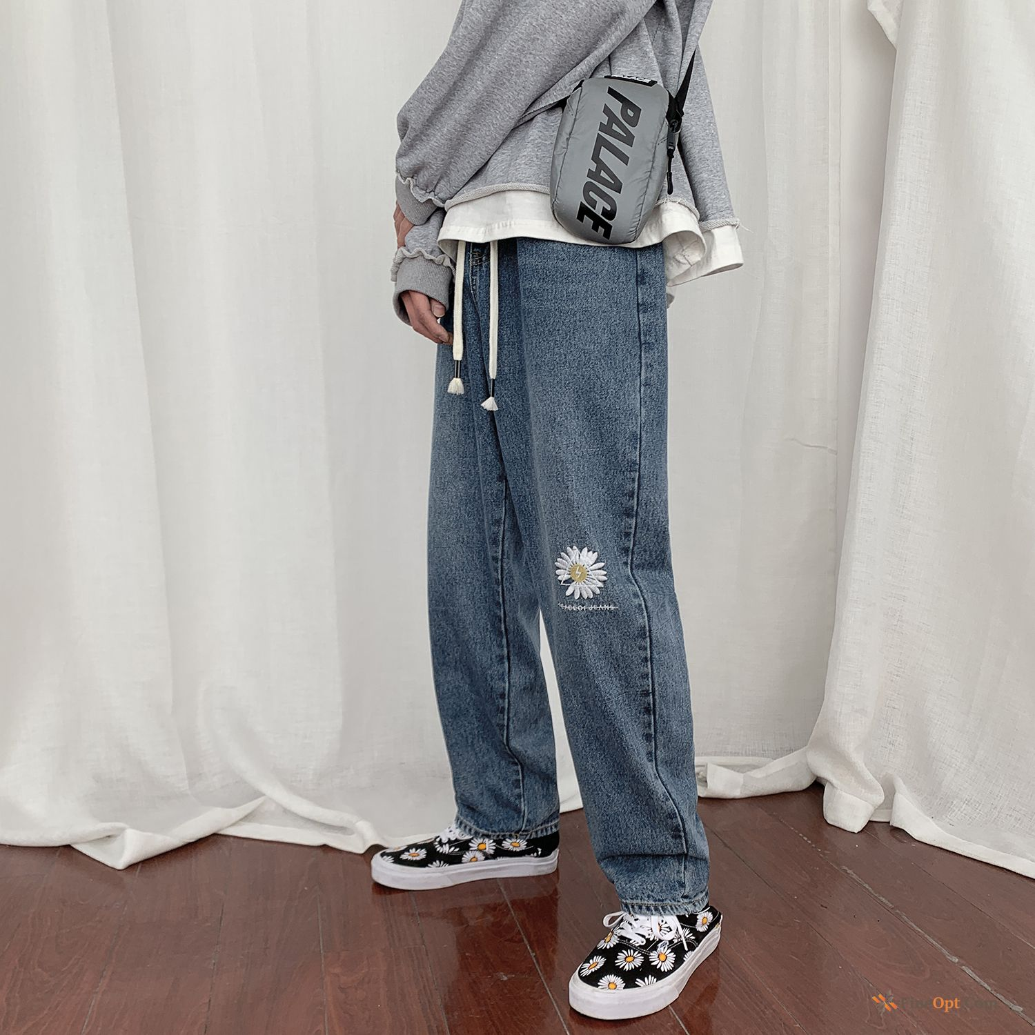 Trend Loose All-match Pants Jeans Leisure Europe