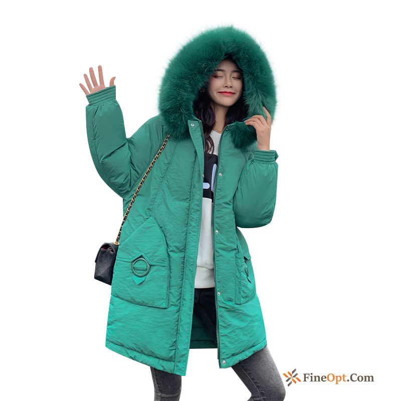 Trend Loose Winter Thickening Cotton Europe Cotton-padded Cotton Coat Sale