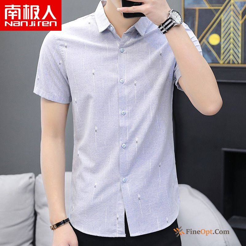Trend Shorts New Breathable Half Sleeve Europe Shirt Shirts Online