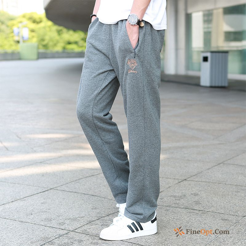 Trend Straight Underwear Elasticity Sweatpants Men's Spring Pants