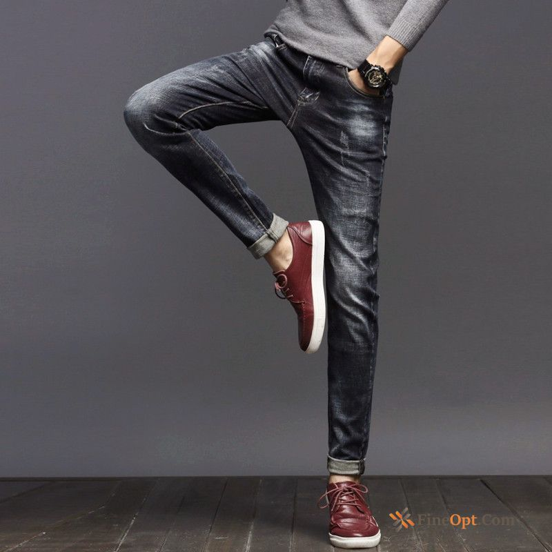 Trousers Skinny Jeans Autumn Elasticity Slim Winter