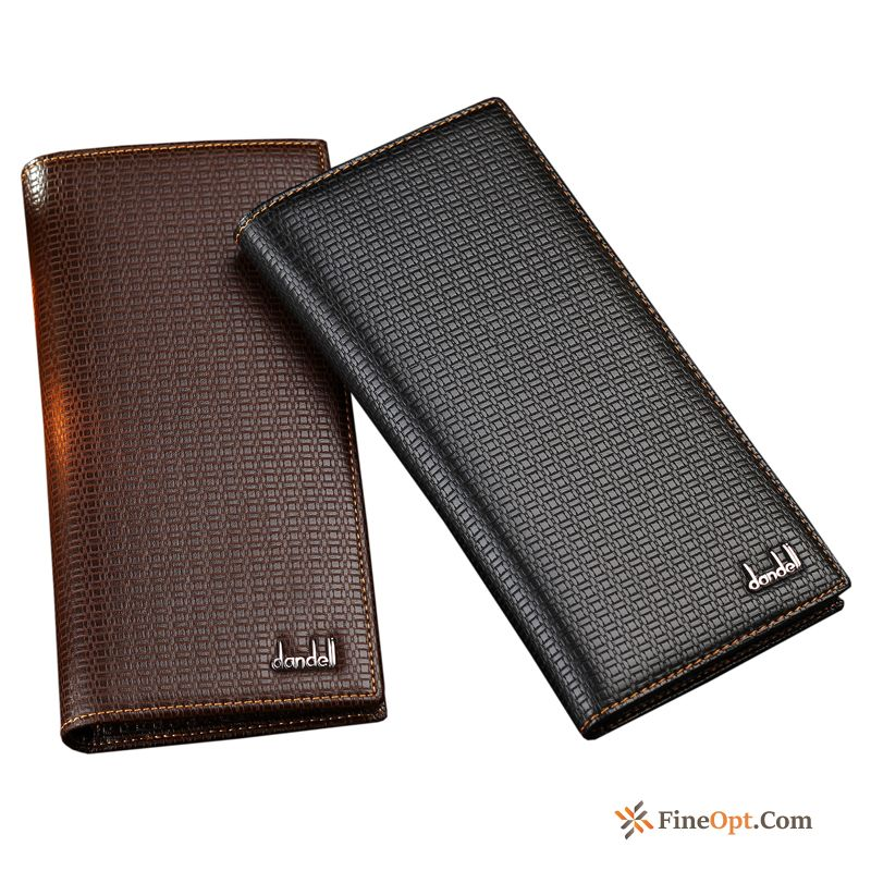 Wallet Long Section Business Men's Vertical Section Wallets Wallet For Sale