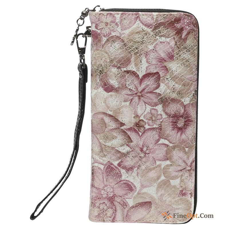 Wallet New Zipper Small Genuine Leather Mobile Phone Cross Section Raw White Wallets For Sale