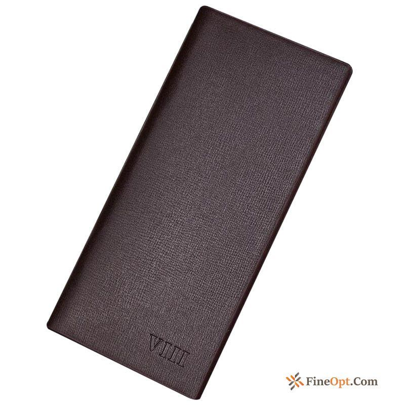 Wallet Simple Men's Leisure Wallets Long Section Trend