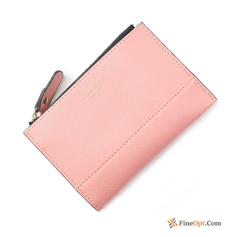 Wallet Zipper Key New Women Card Package Short Paragraph Wallets