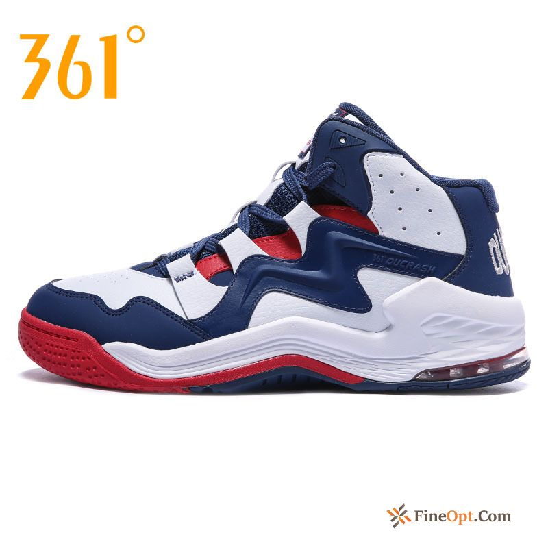 Wear-resisting Genuine Men's Winter Basketball Air Cushion New Basketball Shoes Sale