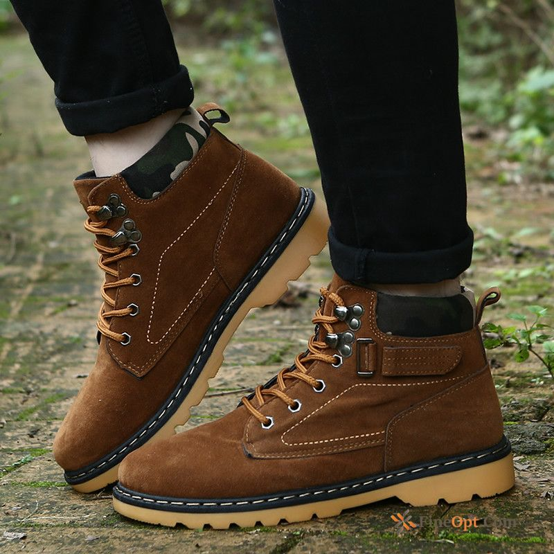 Winter Boots Casual Trend Men's British Short Boots