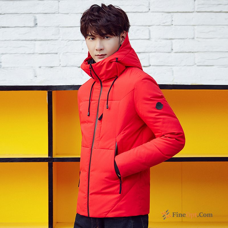 Winter Clothes Trend New Men's Short Coat Thickening Down Jacket For Sale