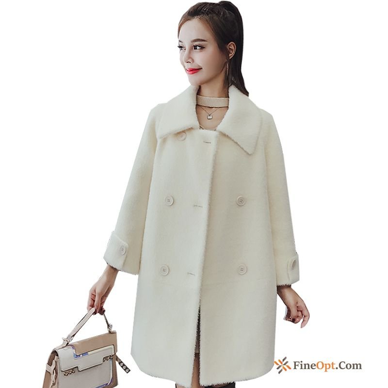 Winter Long Loose Overcoat Gold Europe New Coat For Sale