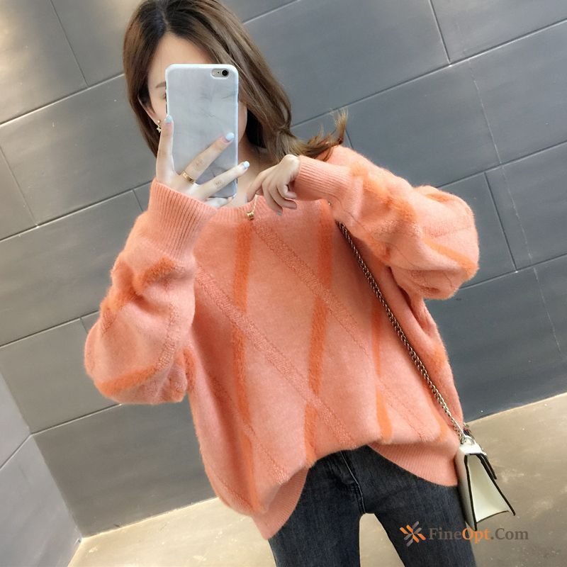 Winter Outwear Trend Pullovers Europe Autumn Loose Sweater
