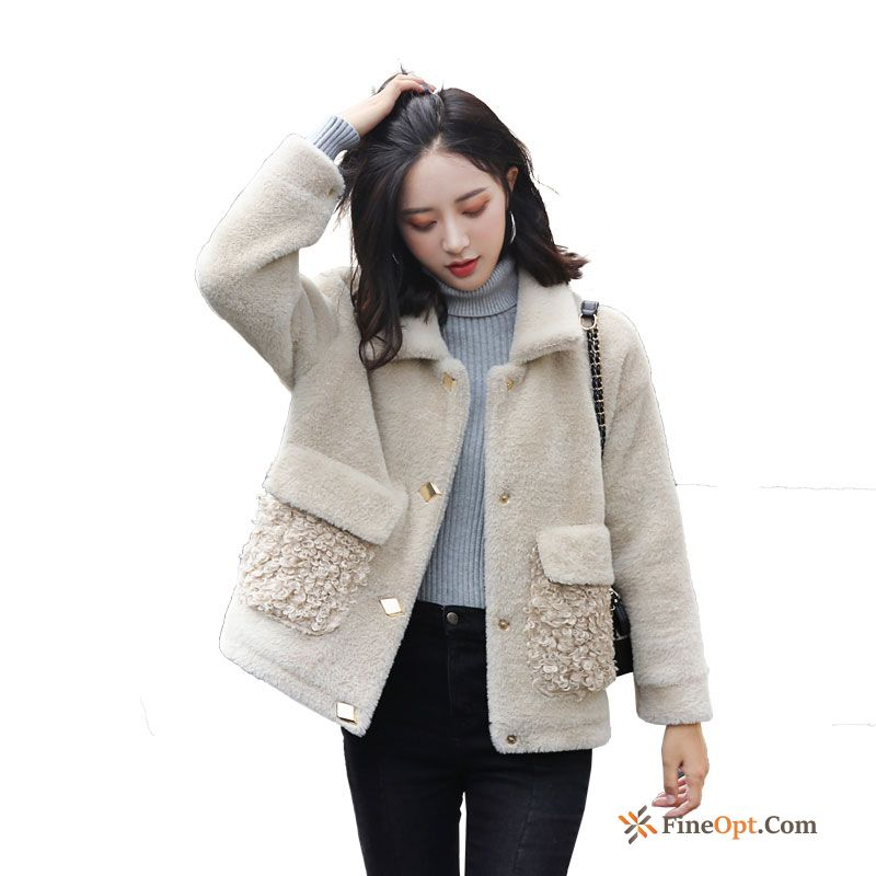 Winter Thin Autumn Coat Elegant Temperament Woolen Coat