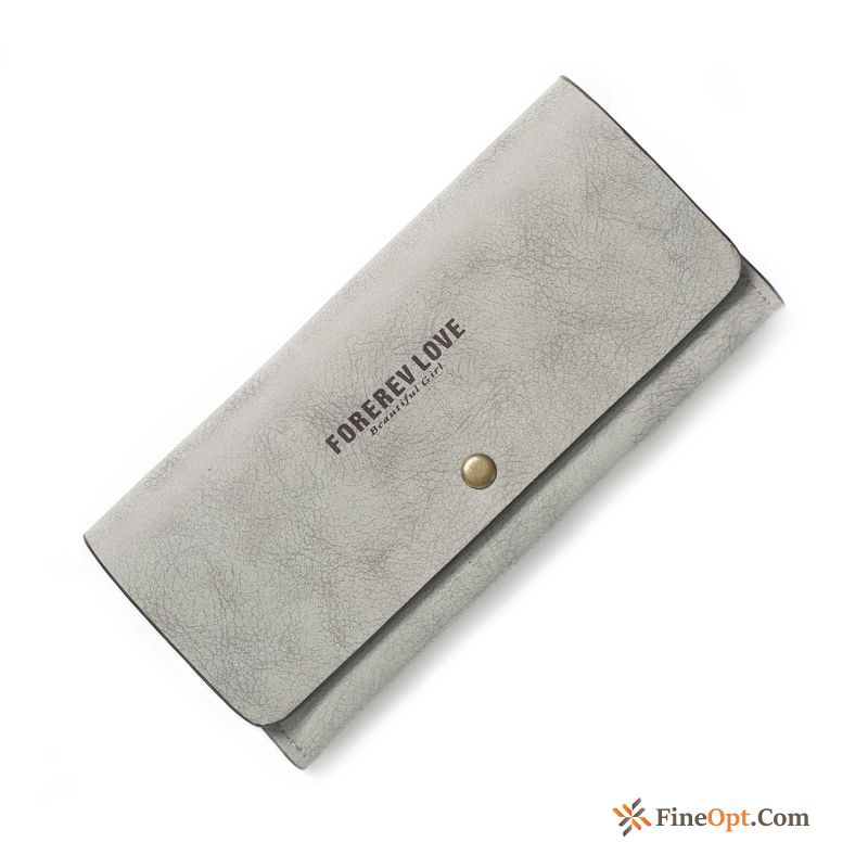Women Simple Thin Section Wallets New Wallet Long Section Discount
