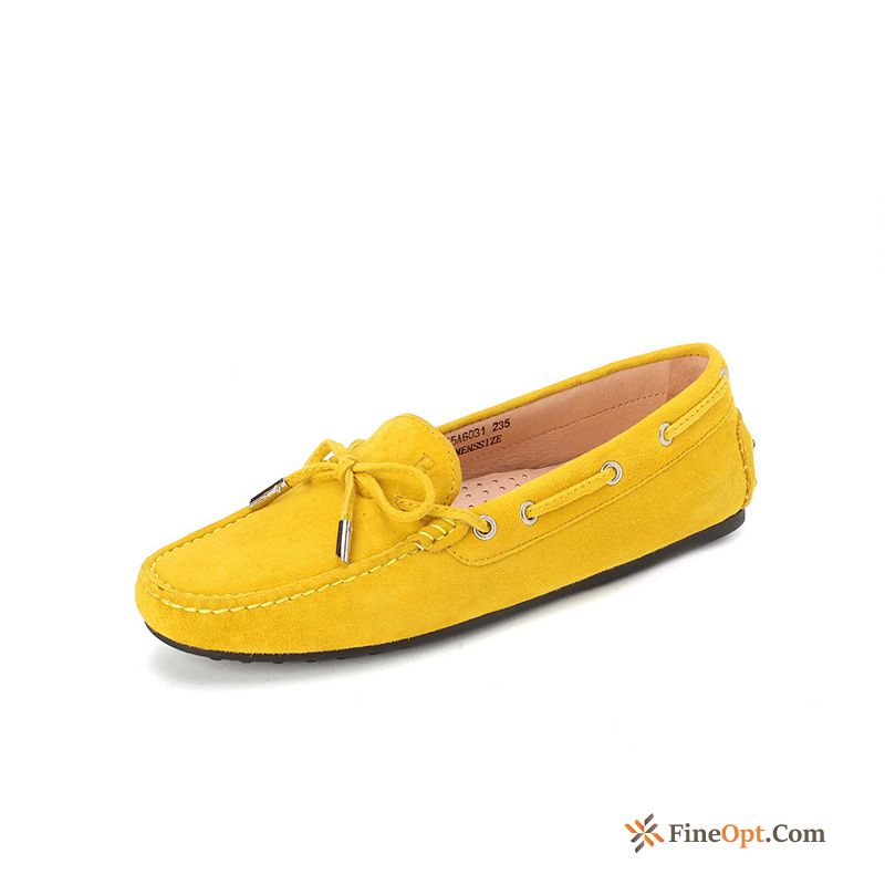 Yellow Causal Shoes All-match Autumn New Slip-on Pumps Skyblue Loafers Sale