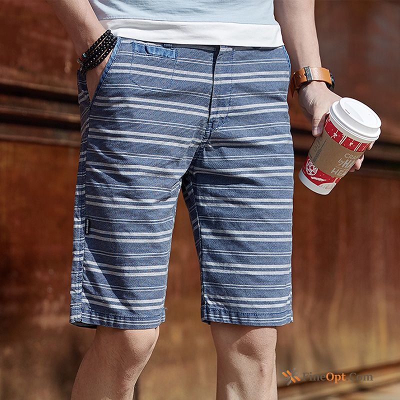 Youth Shorts Men's Breathable Slim Beach Short Pants Cyan Online