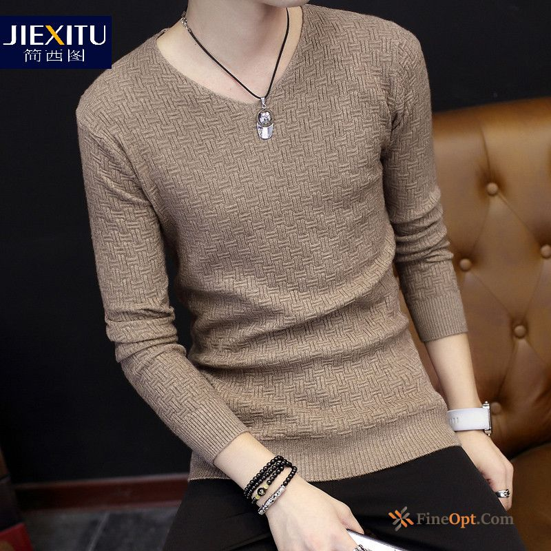 Youth Sweater Bottoming Shirt Long Sleeves Trend T-shirt Europe